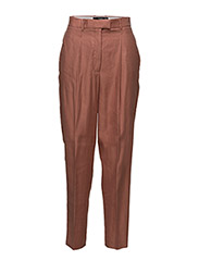 Modal baggy trousers - MEDIUM ORANGE