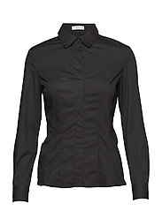 Cotton shirt - BLACK