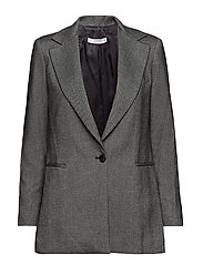 Flecked suit blazer - DARK GREY