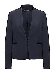 Inverted lapels blazer - NAVY