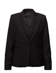 Essential structured blazer - BLACK