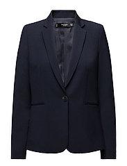 Essential structured blazer - NAVY