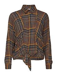Knot shirt - BROWN