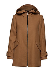 Wool coat - LIGHT BEIGE