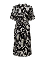 Mango - Printed Bow Dress