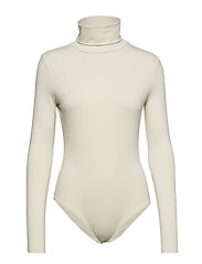 Turtleneck body - LIGHT BEIGE
