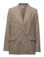 Structured suit blazer - LIGHT BEIGE