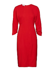Midi modal dress - RED