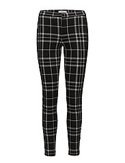 Mango - Checks Print Leggings