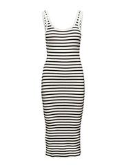 Mango - Ribbed Jersey Dress