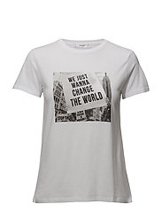 Photo print t-shirt - WHITE