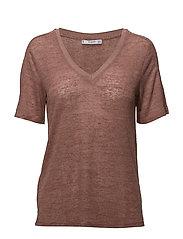 Devor knit t-shirt - PINK