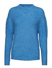 Fine-knit sweater - TURQUOISE - AQUA