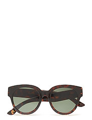 Tortoiseshell sunglasses - DARK BROWN