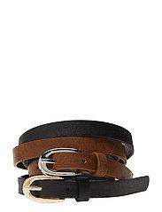 Skinny belt pack - BLACK
