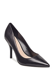 Leather pumps - BLACK