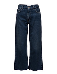 Crop relaxed jeans - OPEN BLUE