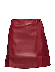 Wrap miniskirt - RED