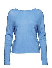Knot detail sweater - LT-PASTEL BLUE