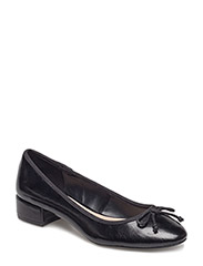Heel ballerinas - BLACK