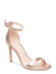 Metallic heel sandals - RUST - COPPER