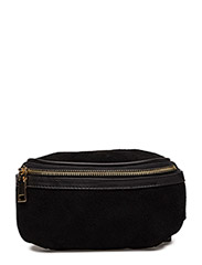 Suede belt bag - BLACK