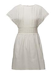 Mango - Guipure Cotton Dress