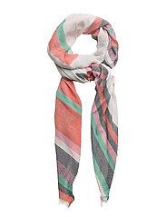 Metallic detail scarf - BRIGHT PINK