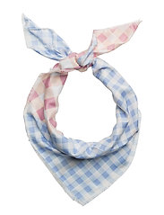 Mango - Gingham Check Printed Scarf