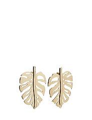 Leaf earrings - GOLD