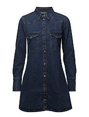 Mango - Denim Shirt Dress