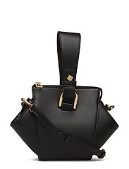 Geometric mini bag - BLACK