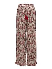 Combi print trousers - NATURAL WHITE