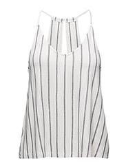 Striped top - NATURAL WHITE