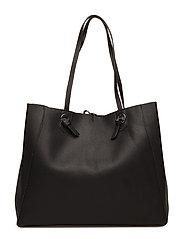 Knot shopper bag - BLACK
