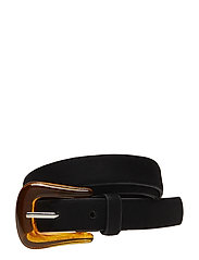 Resin buckle belt - BLACK