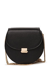 Flap chain bag - BLACK