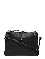 Textured envelope bag - BLACK
