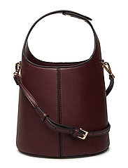 Bucket bag - DARK RED