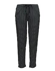 Mango - Drawstring Flowy Trousers