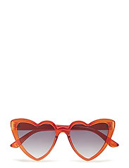Heart-shape sunglasses - RED