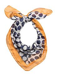 Polka-dot print scarf - NAVY
