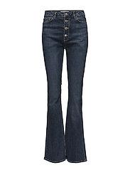 High waist flare jeans - OPEN BLUE
