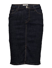 Mango - Slit Denim Skirt