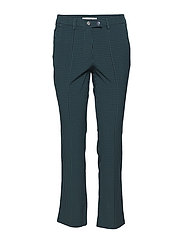 Suit cropped trousers - DARK GREEN