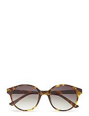 Tortoiseshell sunglasses - DARK BROWN