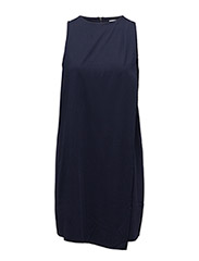 Double layer dress - NAVY