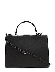 Briefcase-style bag - BLACK