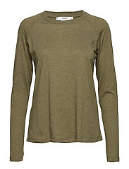 Organic cotton t-shirt - BEIGE - KHAKI