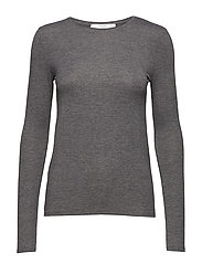 Long sleeve t-shirt - DARK GREY